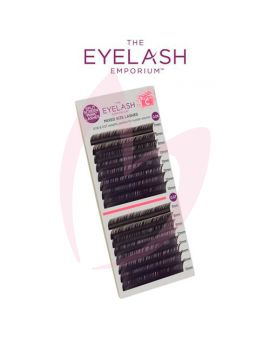 The Eyelash Emporium C Curl 0.06 & 0.07mm Split Screen Mink Tray Lashes