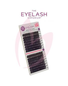 The Eyelash Emporium C Curl 0.20 & 0.25mm Split Screen Mink Tray Lashes