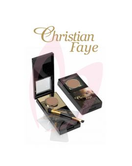 Christian Semi Permanent Eyebrow Makeup Kit - DARK BROWN