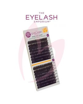 The Eyelash Emporium D Curl 0.10 & 0.12mm Split Screen Mink Tray Lashes