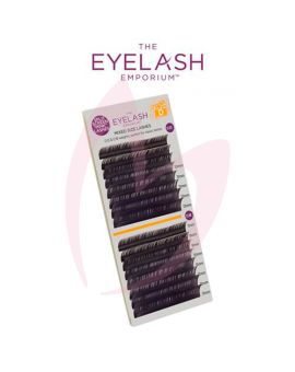 The Eyelash Emporium D Curl 0.15 & 0.18mm Split Screen Mink Tray Lashes
