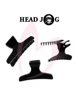 Head Jog Butterfly Clamps Large Black