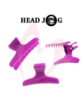 Head Jog Butterfly Clamps Large Purple