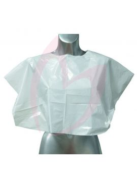 Head Gear Disposable Colour Capes (100) - Clear
