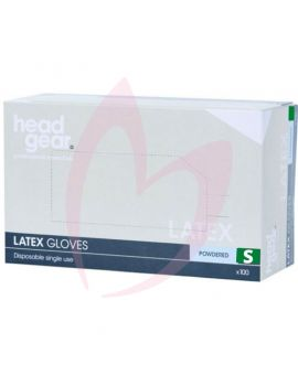 Head Gear Disposable Latex SMALL Gloves (Powdered) 100