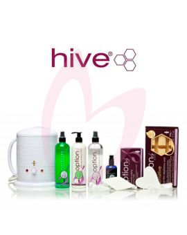 Hive Options 'Sensitive Hot Film' Starter Kit & Wax Heater 1 Litre