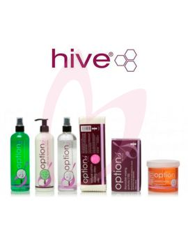 This Warm 'Honey' Wax Accessory Pack Has Been Designed To Provide All The Essential Products You Need To Begin Depilatory Waxing.  The Following Options By Hive Products Are Included:  X 1 Pre Wax Cleansing Spray 400ml X 1 Warm 'Honey' Wax 425g X 1 Dispos