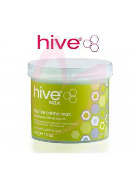 Hive Options Tea Tree Creme Wax 425g