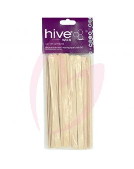 Hive Options Disposable Mini Spatulas (50) 15cm x 1cm
