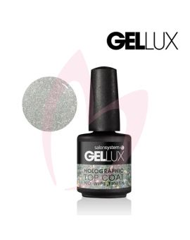Gellux Holographic Top Coat No Wipe 15ml