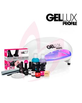 Salon System Gellux Gel Polish Kit + Profile LED PRO-Lamp