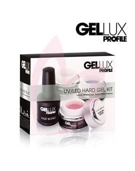 Salon System Gellux UV/LED Hard Gel Kit