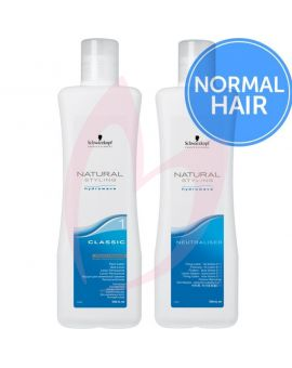 Schwarzkopf Natural Styling Hydrowave Perm Lotion & Neutraliser Pack 1000ml