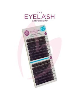 The Eyelash Emporium B Curl 0.10 & 0.12mm Split Screen Mink Tray Lashes