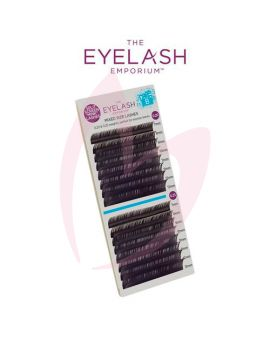 The Eyelash Emporium B Curl 0.20 & 0.25mm Split Screen Mink Tray Lashes