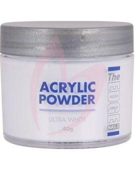 The Edge Acrylic Powder Ultra White 40g