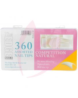 The Edge Nails COMPETITION NATURAL (360 Tips)