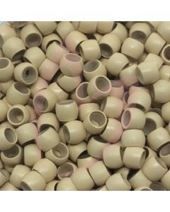 Silicone Lined Nano Beads x100 Blonde