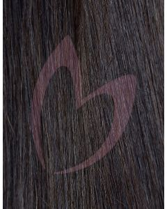"18"" Beauty Works (Celebrity Choice) 1g Flat Tip - #1b Ebony x50"