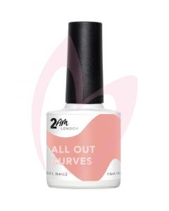 2AM London Gel Polish - All Out Curves 7.5ml