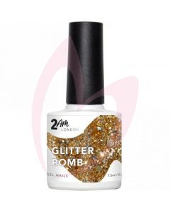 2AM London Gel Polish - Glitter Bomb 7.5ml
