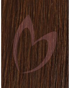 "20"" Beauty Works (Celebrity Choice) 1g Flat Tip - #4 Hot Toffee x50"