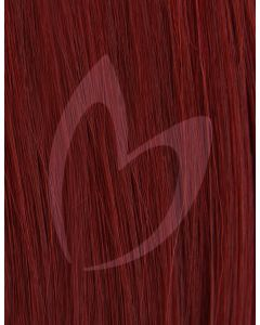 "18"" Beauty Works (Celebrity Choice) 1g Flat Tip - #530 Cherry x50"
