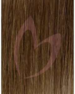 "18"" Beauty Works (Celebrity Choice) 1g Flat Tip - #5 Golden Brown x50"