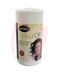 Denman Colour Wipes pk100