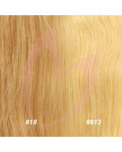 "12"" Clip-in Hair *18 / 613 (BLONDE MIX)"