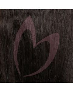 "12"" Clip-in Hair *1b Natural Off Black"