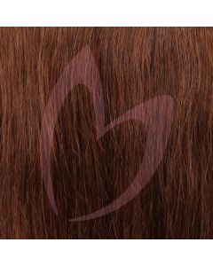 "12"" Clip-in Hair *4 Natural Brown"