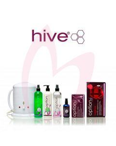 Hive Original Hot Film Accessory Pack & No.1 Wax Heater 1 Litre