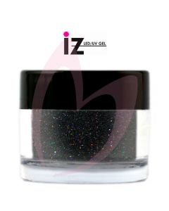 Black Holographic Glitter 6g (Silent Night)