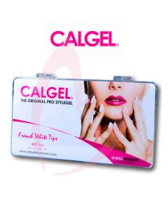 Calgel French White Tips Box of 400