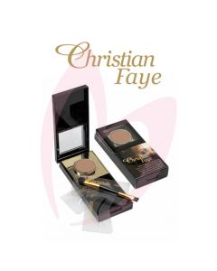 Christian Semi Permanent Eyebrow Makeup Kit - BROWN
