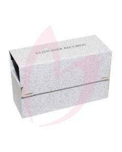 Client Record Card Box - Small Empty (Contains Index Cards)