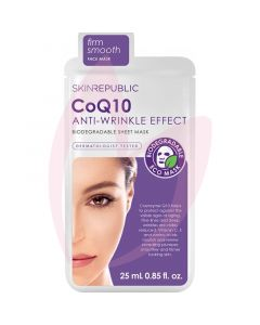 Skin Republic CoQ10 Anti-Wrinkle Effect Sheet Mask - 25ml