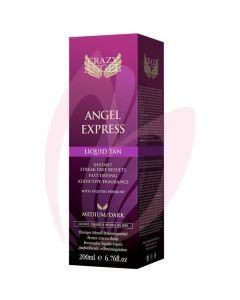 Crazy Angel Fast Acting Liquid Tan (200ml)