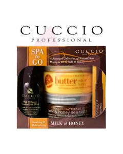 Cuccio Naturale - Milk & Honey Spa To Go Kit