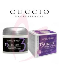 Cuccio T3 LED/UV Self Levelling Gel 28g - Transparent Pink