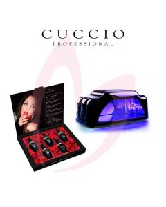 Cuccio Veneer - First Crush Kit LED/UV + Mini LED Lamp