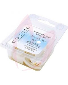 Cuccio French Manicure White Tips - (100 Assorted Pack)