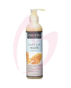 Cuccio Naturale - Milk & Honey Hand and Body Wash 237ml