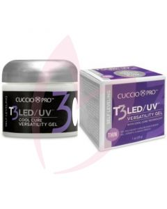 Cuccio T3 LED/UV Self Levelling Gel 28g - White