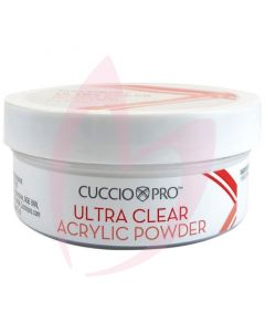 Cuccio Ultra Clear Acrylic Powder 45g (1.6oz) - Clear
