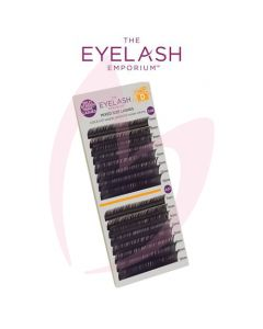 The Eyelash Emporium D Curl 0.06 & 0.07mm Split Screen Mink Tray Lashes
