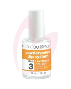 Cuccio Powder Polish Layering Gel 14ml (Step 3)