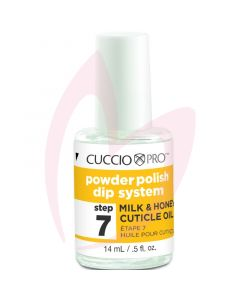 Cuccio Powder Polish Milk & Honey Cuticle Oil 14ml (Step 7)