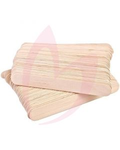 Disposable Waxing Spatulas 15cm x 2cm (Box of 100)